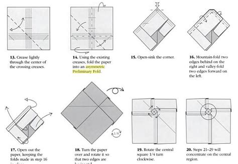 5 best images of robert j lang origami diagrams robert