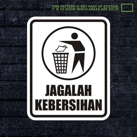Wskpc161 Sticker K3 Safety Sign Warning Sign Bahan Berbahaya jual wskpc020 sticker safety sign warning sign jagalah