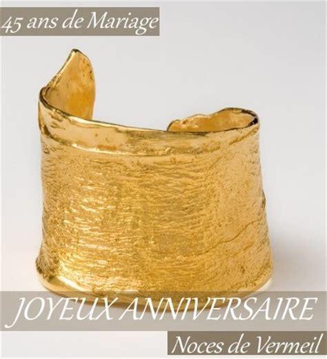 45 ans de marriage noce de muguet