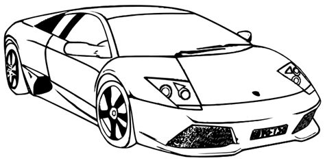 Lamborghini Coloring Pages   Coloring pages of CARS   #16