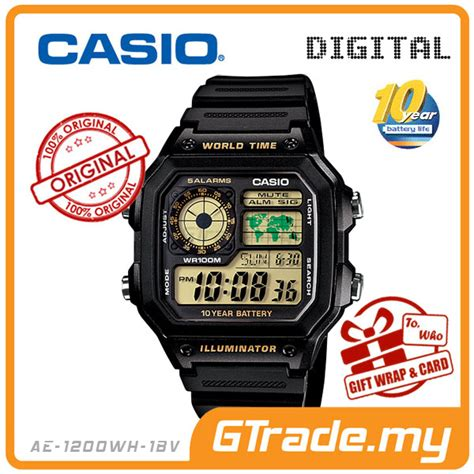 Casio Ae 1200wh 1bv Original casio standard ae 1200wh 1bv digital end 6 1 2018 3 15 pm