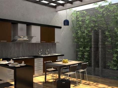 model dapur minimalist terbuka desain desain dapur