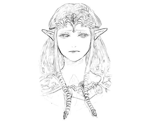 zelda twilight princess coloring pages coloring pages