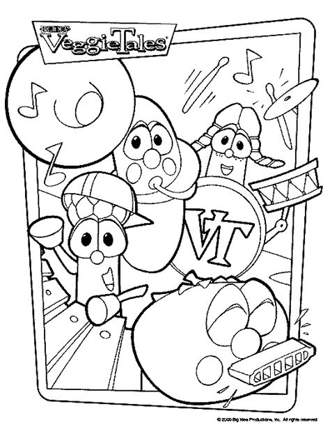 Veggietales Bob Coloring Pages Coloring Pages Veggietales Coloring Pages