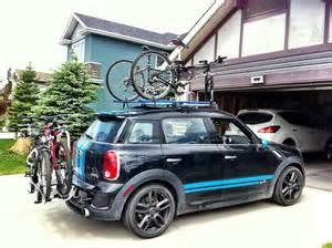 Mini Cooper Clubman Bike Rack Added The Rear Bike Rack American Motoring