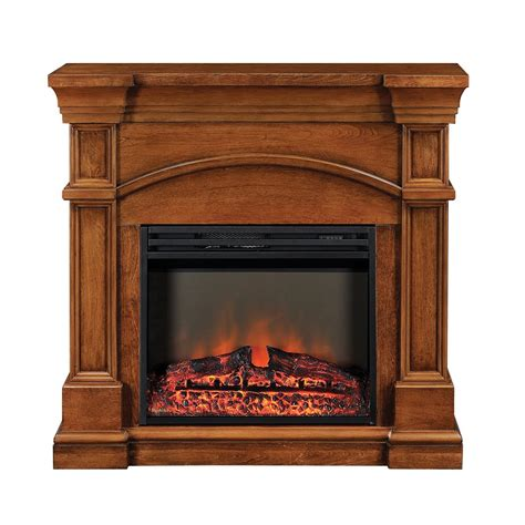 muskoka mef2391bwl oberon electric fireplace mantel lowe