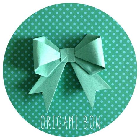 origami bow origami and paper origami bow