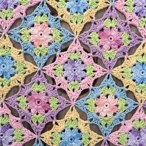 pattern flower english little wilde flower square english pattern