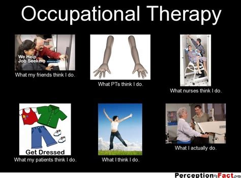Occupational Therapy Memes - occupational therapy what people think i do what i
