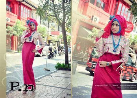 Gamis Pesta Pn0833 By Pn Fashion baju muslim gaya koleksi terbaru dari p n fashion