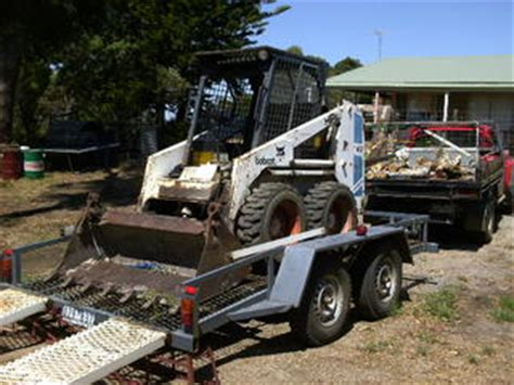 boat trailer parts canberra for sale bobcat 743 and trailer instant business