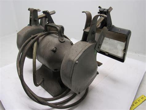 black and decker bench grinder black decker vintage industrial 6 quot bench grinder 220