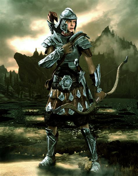 skyrim imperial soldier imperial legion female soldier by lordhayabusa357 on