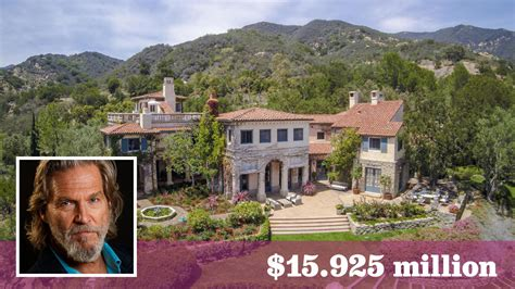 jeff bridges santa barbara jeff bridges unloads his vineyard estate in montecito for