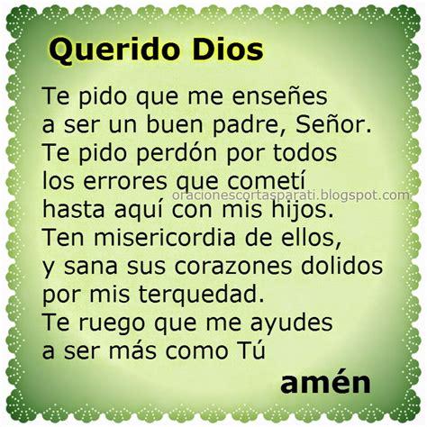 oracion de padre para mi oraci 243 n para ser mejor padre oraciones cortas para ti