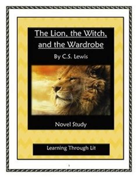 narnia film study guide lion the witch and the wardrobe narnia c s lewis