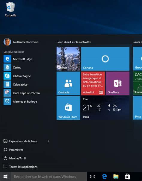 windows 8 bureau disparu windows histoire du menu d 233 marrer