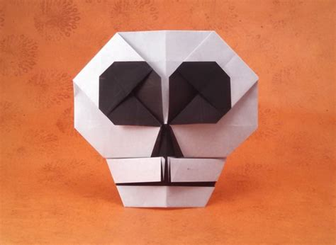 Skull Origami - origami skulls and skeletons page 2 of 2 gilad s