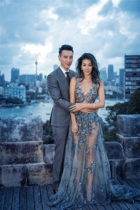 Celebrity Wedding: Sunny **** and Dominique Choy   Hong