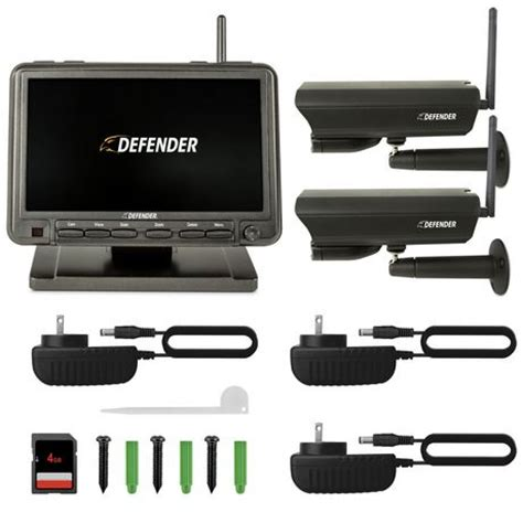 defender digital wireless security system with