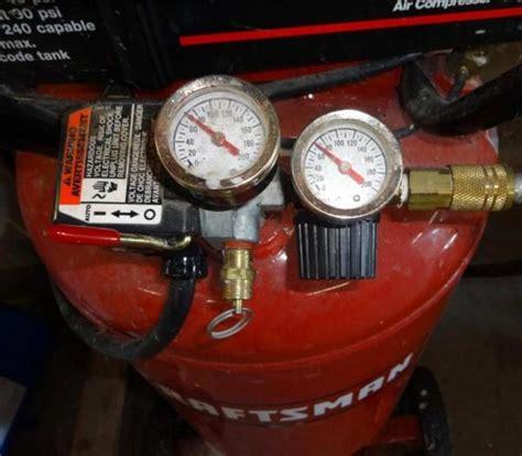 craftsman  hp  gallon air compressor model