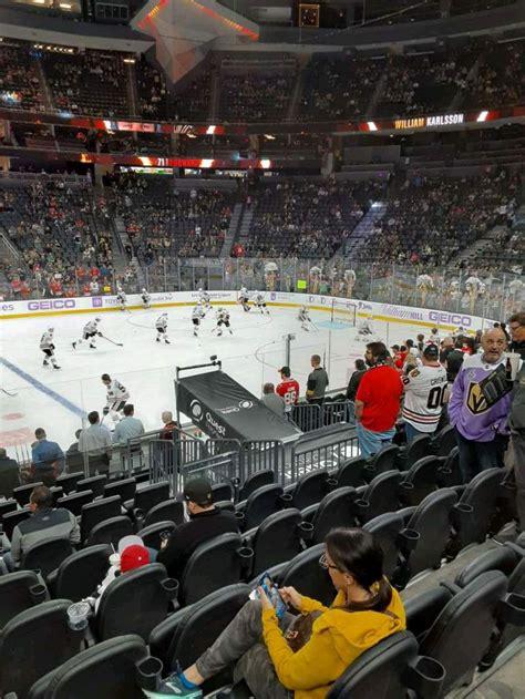 mobile arena section  row  seat  vegas golden