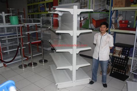 Rak Minimarket Bekasi jual rak supermarket berkualitas tinggi