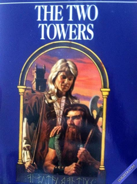 libro the two towers lord 20 portadas desconcertantes de libros gamespek