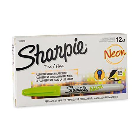 Dijamin Sharpie Neon Point 5 Pcs Set galleon sharpie 1878458 neon point permanent marker neon green 12 pack