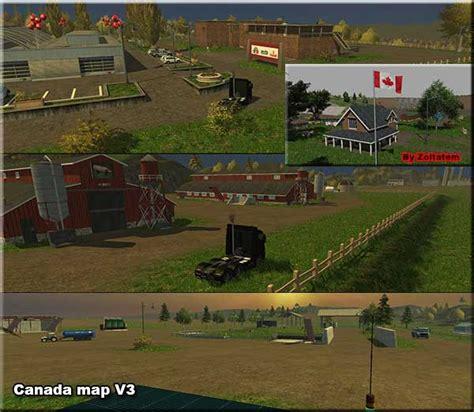 canadian map farming simulator 2015 canada map v 3 0 ls2013