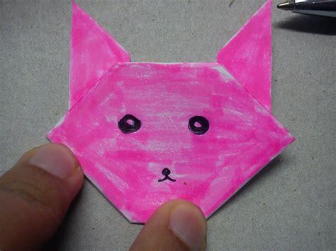 cara membuat origami arnab madah berpuisi cara buat origami arnab cumil