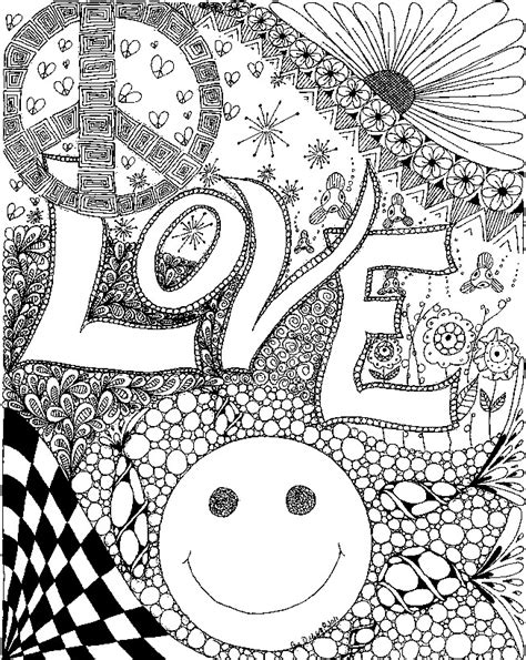 love coloring pages for adults adult coloring page love love 4