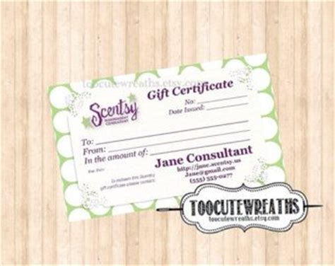 Free Scentsy Business Card Template by Card Templates Scentsy And Templates On