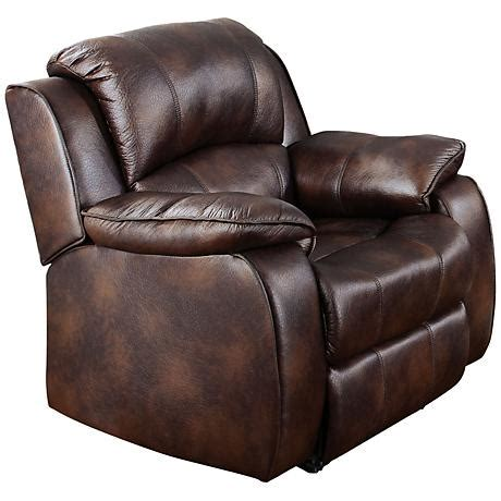 morgan glider and ottoman morgan stucco faux leather ottoman and swiveling recliner