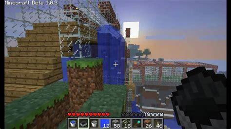 aptoide minecraft 1 2 0 2 minecraft beta 1 0 2 release my world 5 house youtube