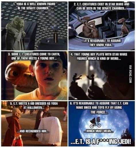 Et Is A Jedi Meme - the e t yoda theory neatorama