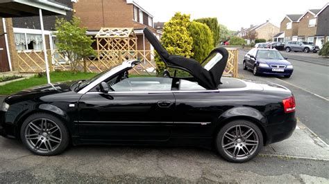 audi a4 convertible roof audi a4 cabriolet convertible b6 b7 roof opening with