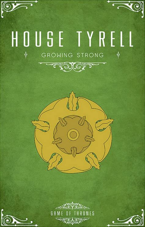 Haus Tyrell by House Tyrell Of Thrones