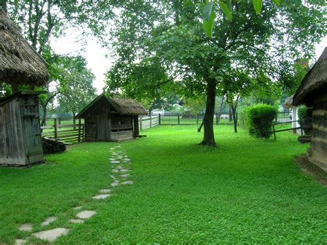 the backyard file gocsej village house backyard jpg wikimedia commons
