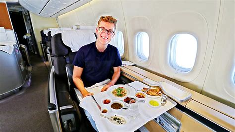 best flight best flight alone in lufthansa class 747 8