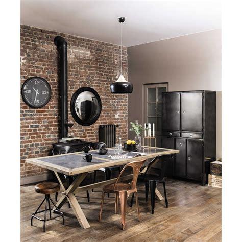 table ronde de salle 224 manger en bois neuilly table de