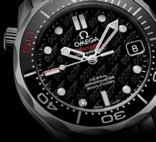 Rolex 007 Semi omega seamaster bond 50th anniversary bond lifestyle