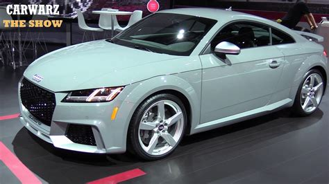 2019 Audi Tt Rs by 2019 Audi Tt Rs 5 Cyl 400hp At The Naias