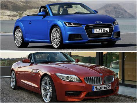 2015 audi tt roadster vs 2014 bmw z4 roadster comparison