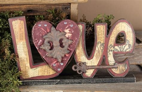 Home Decor Wooden Signs Sayings by Country Hearts Decor Primitive Home Decors