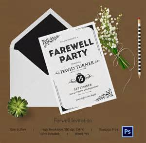 Farewell Invitation Template Free by Farewell Invitation Template Word Wedding
