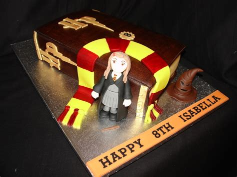 Home Decorating Forum Harry Potter Hermione Granger Themed Fondant Cake