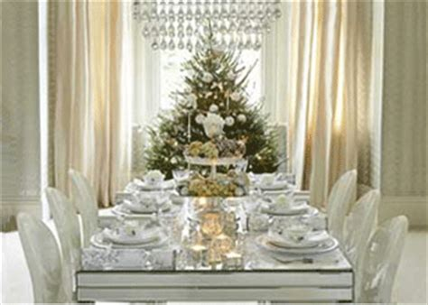 white christmas tree modern decorating wreath table