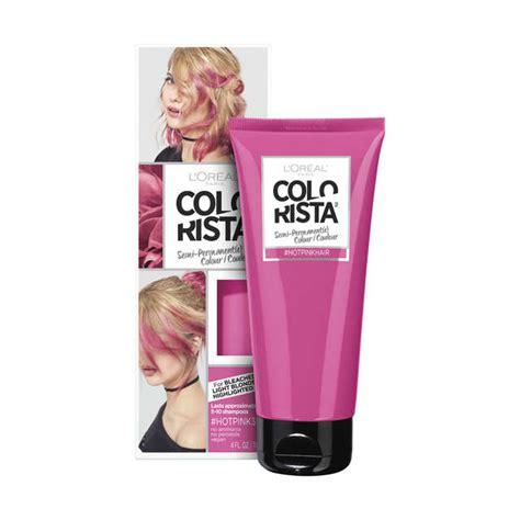 loreal semi permanent hair color colorista pink semi permanent hair colour l or 233 al