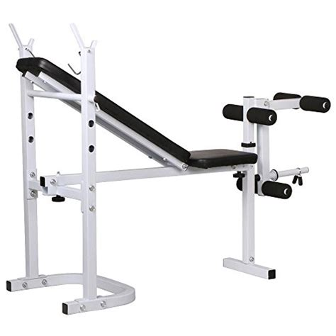 hard gear weight bench yaheetech weight bench fitness workout home exercise